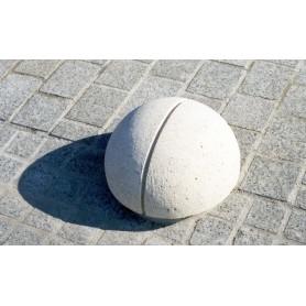 Borne demi sphère