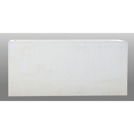 Jardinière 217.5x106x100 - Finition Blanc lisse