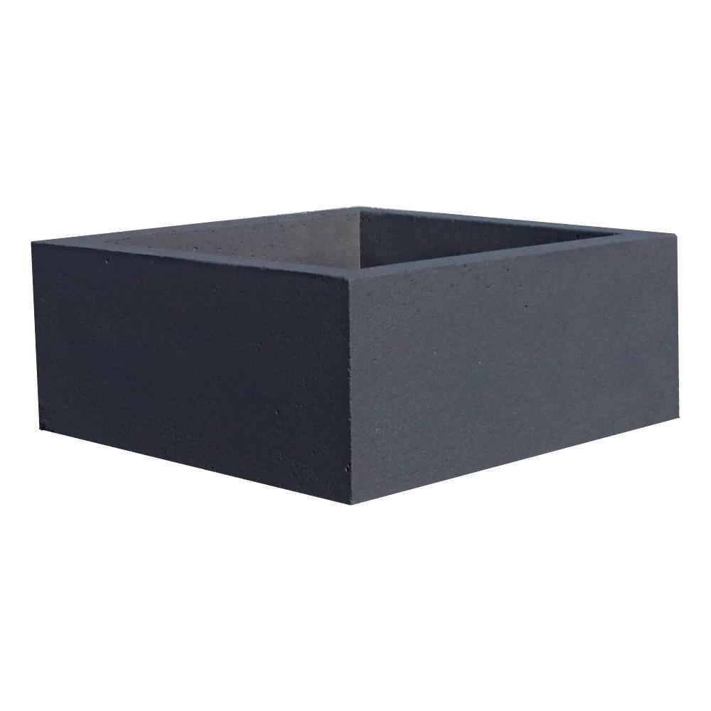 jardini re en b ton 60x60x25. Black Bedroom Furniture Sets. Home Design Ideas