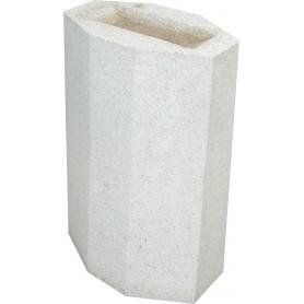 Cendrier LMB - Finition Blanc sablé ton pierre