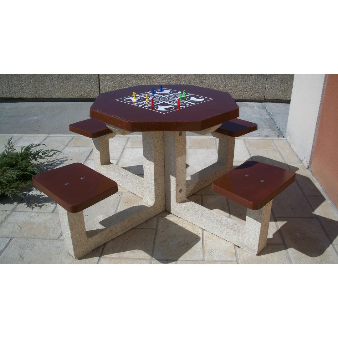 Table de jeu Petits Chevaux