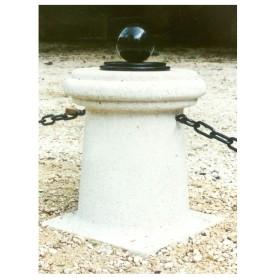 Borne Auron (boule et chaines non fournies)