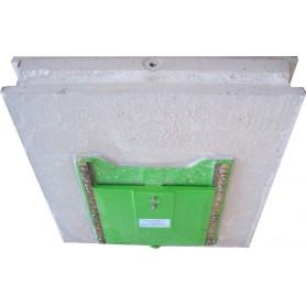 Séparation intérieure porte-vanne et vanne fonte