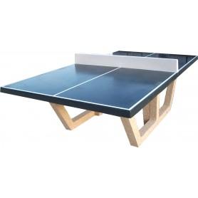 Table ping-pong, teinte à la demande gris foncé