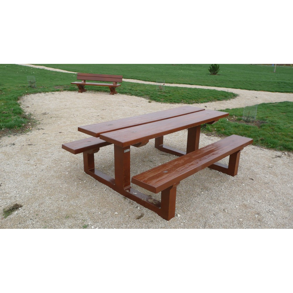 Table Forestiere Type G Lebeau Moulages Beton