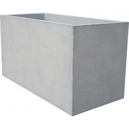 Jardinière 150x70xh80 gris sablé