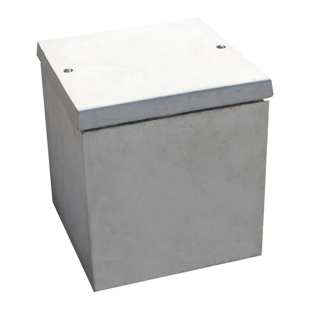 Cave urne 50x50 en béton